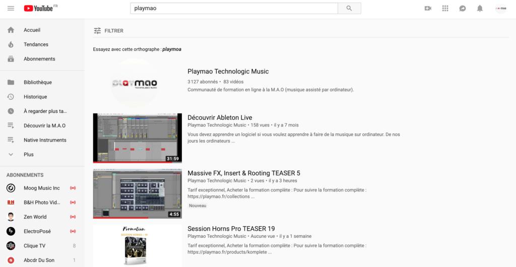 Vous montrer sur YouTube comme beatmaker